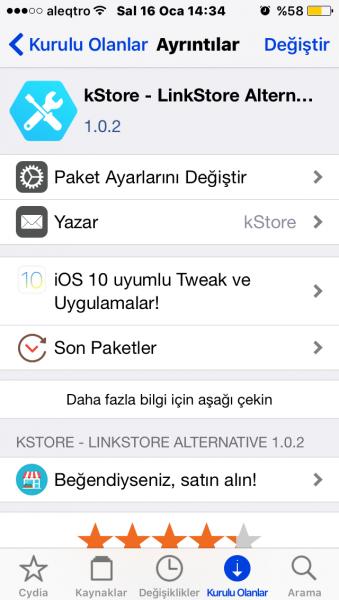 iOS 10 x-10 3 3 64bit Uyumlu Tweakler | Sayfa 14 | Jailbreak