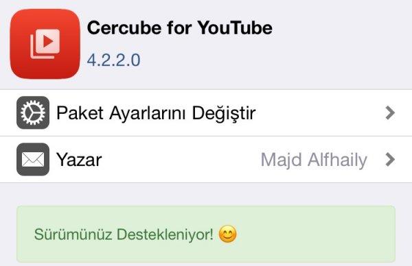 Tweak - Cercube & MImport | Jailbreak of Turkey