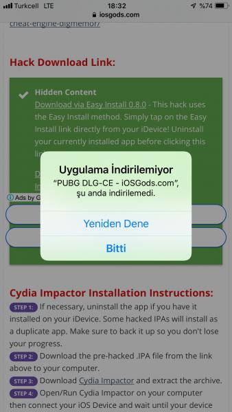 DLGMemor İnjected PUBG MOBİLE HACK! | Sayfa 5 | Jailbreak of Turkey